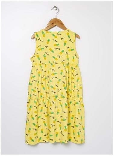 Limon Company Limon Açık Sarı Elbise Sarı
